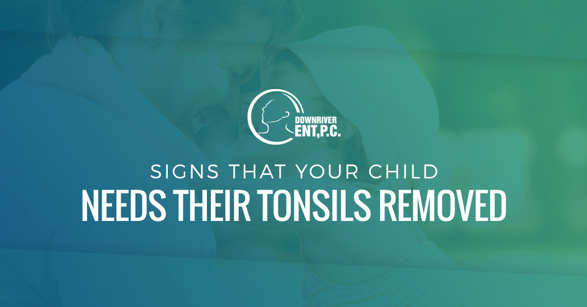Signs Your Child Needs Their Tonsils Removed Banner